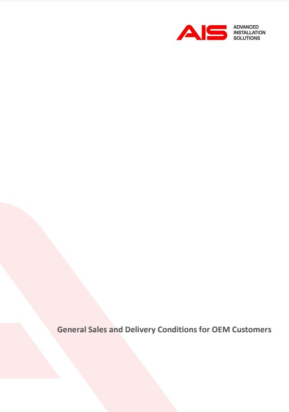 general sales and delivery conditions ais