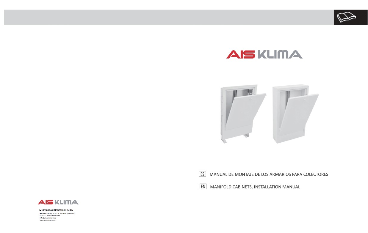 installation manual manifolds ais klima front